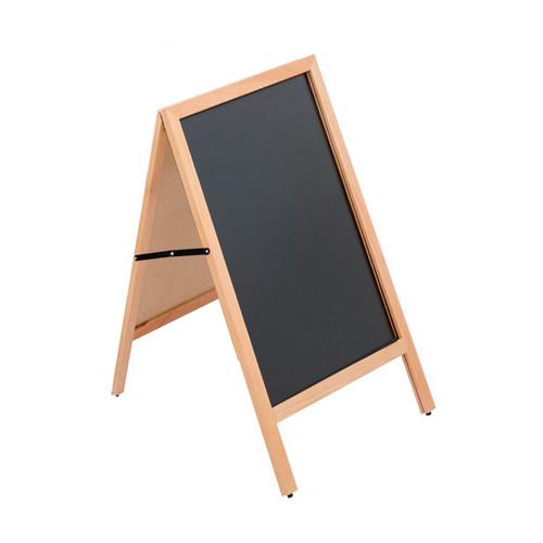 "Double Sided A-Frame Write-On Chalkboard Sidewalk Sign, 23.5""W x 30.75""H"