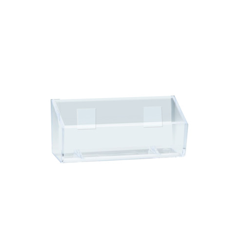 """Business Card Holder with Adhesive Tape -Inside Dimension: 3.75""""W"""