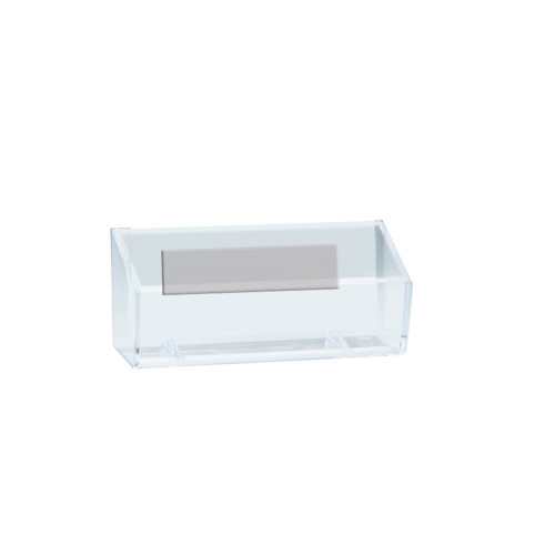 """Business Card Holder with Magnetic Strip Inside Dimension: 3.75""""W"""