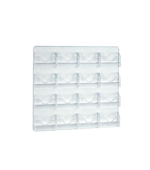 16 Pocket Wall Mount Business/Gift Card Holder