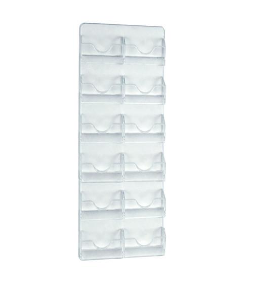 12 Pocket Wall Mount Business/Gift Card Holder