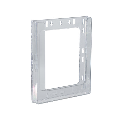 "Single Letter Wall Mount Modular Brochure Holder Inside Dimension: 9""W"