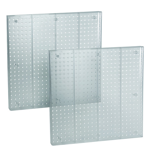 """Pegboard Wall Panel Storage Solution, Size: 24""""x 24"""", 2-Pack"""