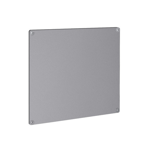 "Metal Magnetic Board Panel for Pegboard or Wall Mount 15.75""L x 13.75""H"