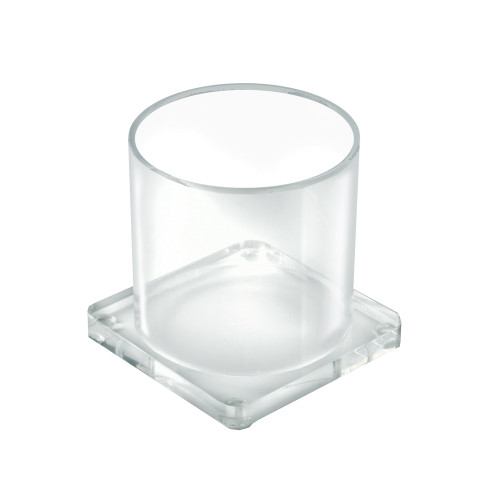 Large Single Cup Acrylic Deluxe Holder