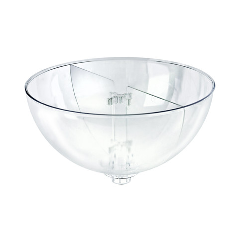 "Two Compartment Divider Set for 14"" Bowl Counter Display (BOWL SOLD SEPARATELY)"