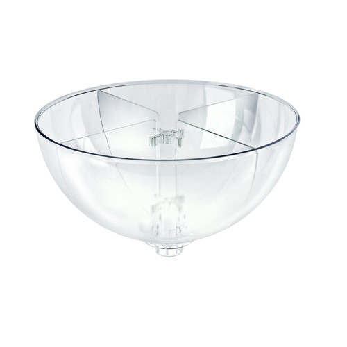 "Four Compartment Divider Set for 14"" Bowl Counter Display (BOWL SOLD SEPARATELY)"