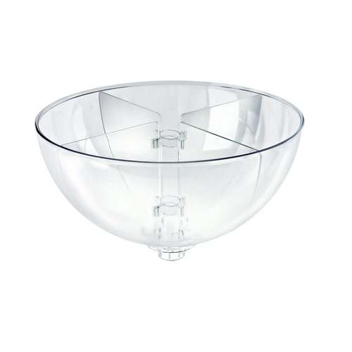 "Four Compartment Divider Set for 14"" Bowl Floor Display (BOWL SOLD SEPARATELY)"