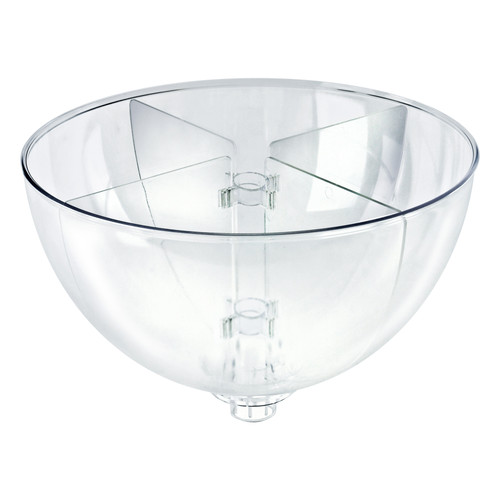 "Four Compartment Divider Set for 16"" Bowl Floor Display (BOWL SOLD SEPARATELY)"