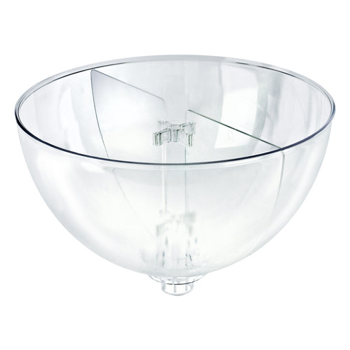 "Two Compartment Divider Set for 16"" Bowl Counter Display (BOWL SOLD SEPARATELY)"