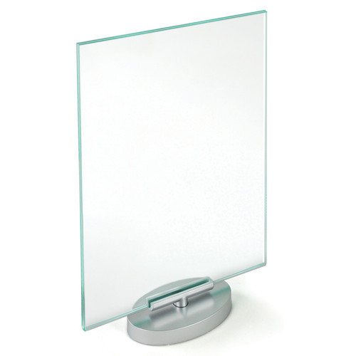 """Two-Sided Revolving Acrylic Sign Holder Frame 8.5""""W X 11""""H"""