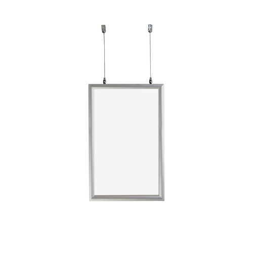 """11""""W x 17""""H Double-Sided Hanging Snap Frame"""