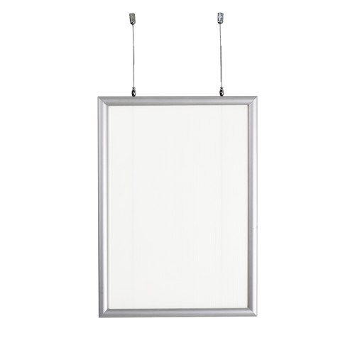 """22""""W x 28""""H Double-Sided Hanging Snap Frame"""