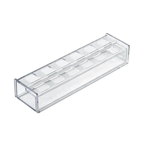 12 Compartment Lipstick Organizer - Square Slot.