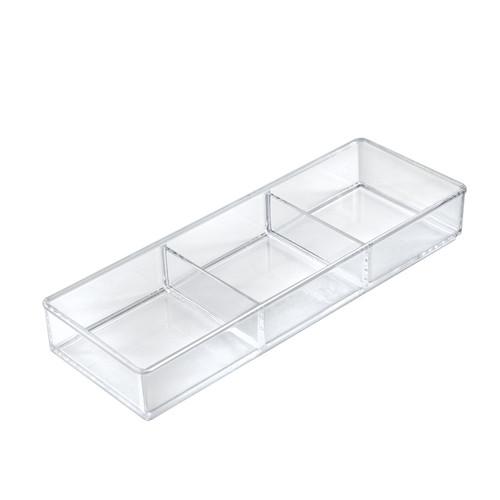 Three Compartment Organizer Tray for Counter