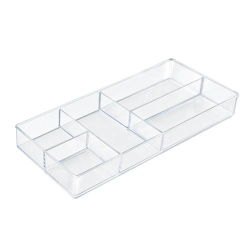 Five Compartment Cosmetic Organizer