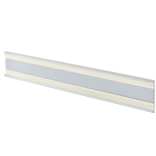 "1.5""H Clear C-Channel. 6-Foot Length"