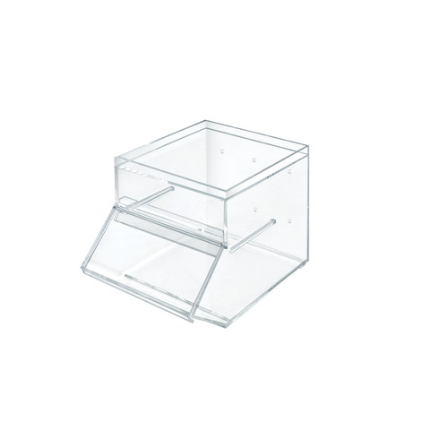 1 Gallon Acrylic Stacking Candy Bin with Slide-Up Door
