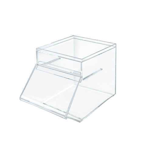 1.5 Gallon Acrylic Stacking Candy Bin with Slide-Up Door