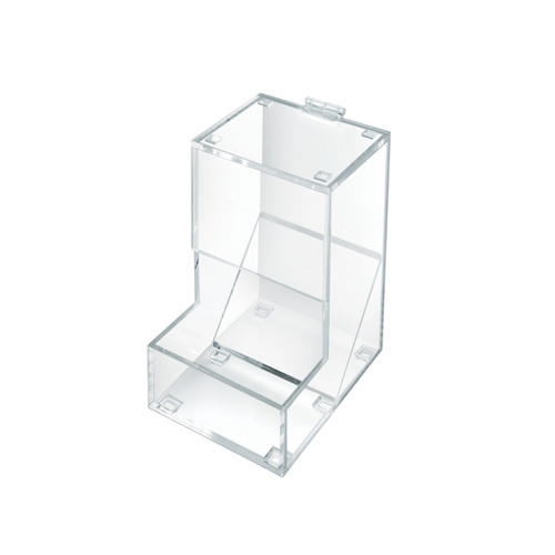 One Compartment Acrylic Candy Dispenser with Lift-Open Top