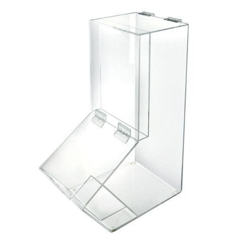 4 Gallon Acrylic Candy Bin with Lift-Open Top and Scoop