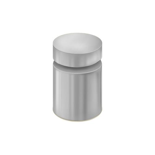 "1"" Diameter Standoff Silver Cap Hardware"