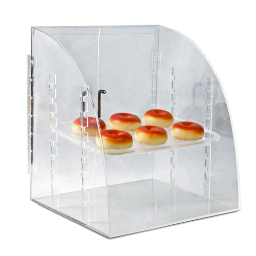 CLOSEOUT: Medium Curved-Front Food Showcase
