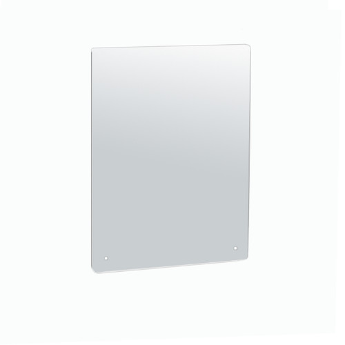 """Cashier Shield, Sneeze Guard, Plexiglass Protective Mounting Barrier, Clear Acrylic .100"""" thick, Mount directly into Counter."""