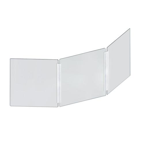 "Plastic Shield Barrier PPE Acrylic Sneeze Guard 1//4/"" x 25/"" H x 36/""W"