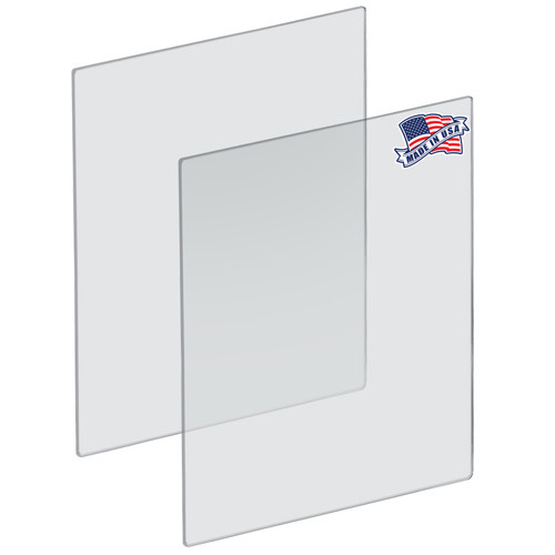 "Plexiglass Acrylic Sheets Cut to Size, Clear Plastic Panels, Size: 30"" x 40"" x 3/16"" Thick with Square Corners"