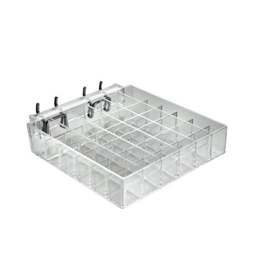 """36-Compartment Tray - square slot .75"""""""
