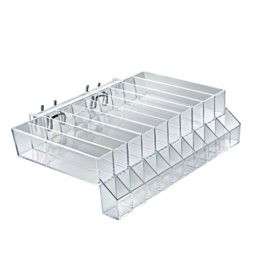 """10-Compartment Tester Tray - slot .9375"""" x 5.75"""""""