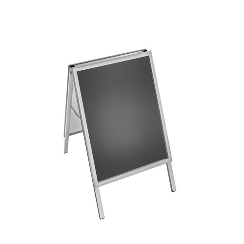 Small Silver Snap Open A-Frame Sign