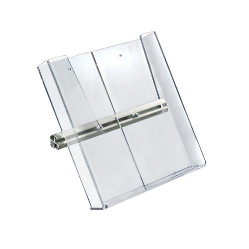 "9.25""W x 10""H Acrylic Brochure Side Shelf for Freestanding Unit"