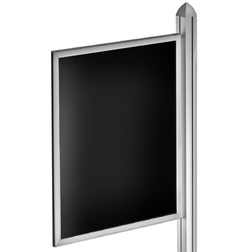 "22""W x 28""H Double-Sided Slide-in Frame for Sky Tower Display"