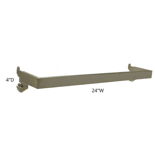 "4"" Deep U-Shaped Hang Rail"