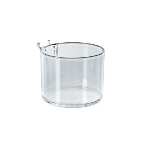 "4"" Diameter Cup Display for Pegboard or Slatwall"