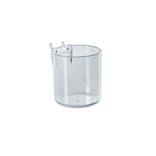 "3"" Diameter Cup Display for Pegboard or Slatwall"