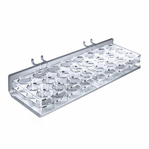 "24-Compartment Tray - octagonal slot 1.187"" x 1"""