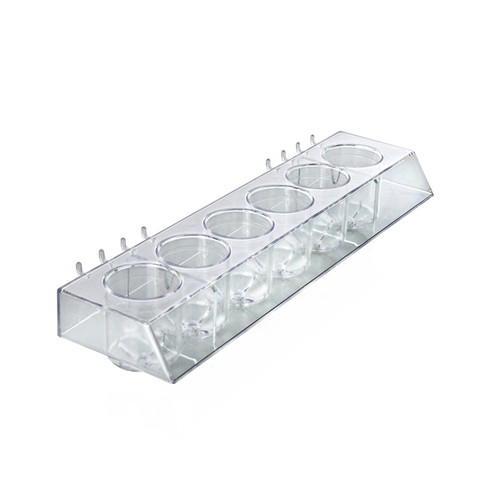 Molded 6-Cup Display Tray