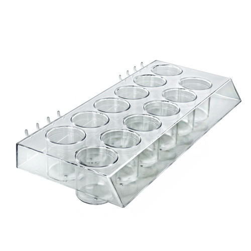 Molded 12-Cup Display Tray