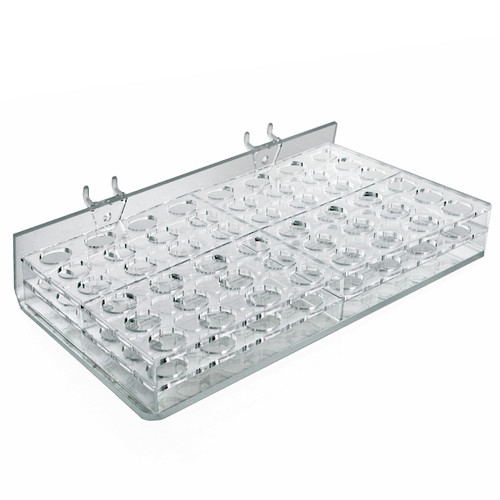 """48-Compartment Tray - round Slot 0.9375"""""""