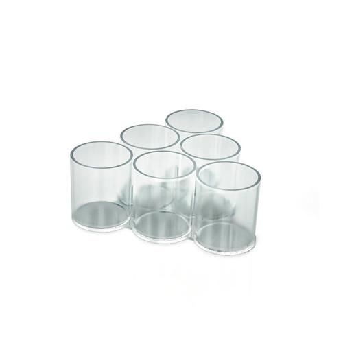 6-Cup Triangular Display