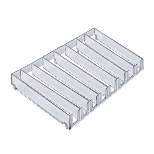 8-compartment modular tray inserts