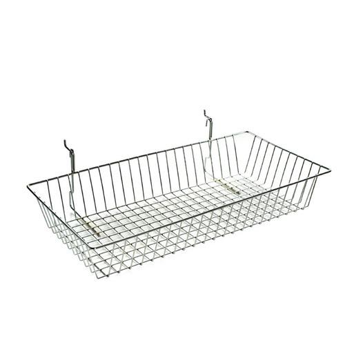 "5""H Chrome Wire Basket"