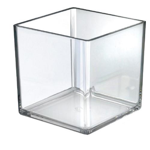 """7"""" Deluxe Clear Cube Bin"""