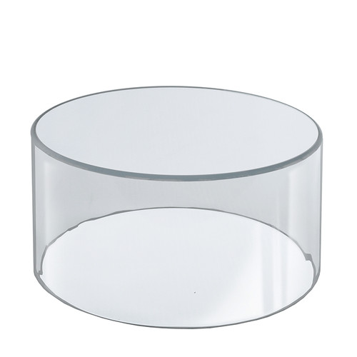 """10""""W x 6""""H Clear Acrylic Cylinder"""