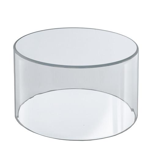 """10""""W x 8""""H Clear Acrylic Cylinder"""