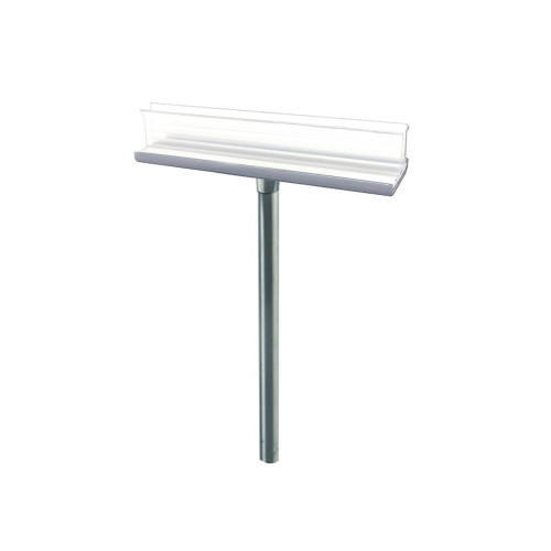 """T-sign holder measures 5""""W x 6""""H"""
