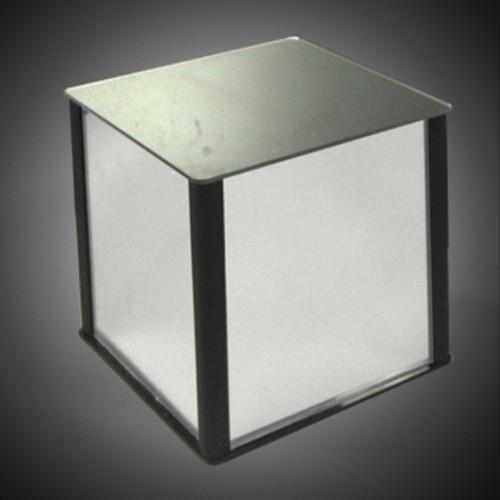 """CLOSEOUT: Mirror Acrylic Cube Pedestal 12""""w x 12""""d x 12""""high"""